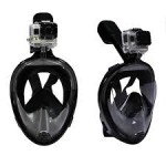 Easy Breathe snorkel Mask With GoPro Mount